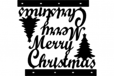 Stand Merry Christmas Decoration Dxf File Designs Cnc Free Vectors For All Machines Cutting Laser Router