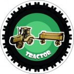 Tractor 3D Laser Cut PDF File