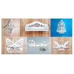Laser Cut Shelves Collection Free Vector.cdr