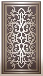 Laser Cut Decorative Panel Design DXF File