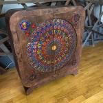 Laser Cut Decorative Dresser Free Vector