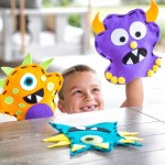 Laser Cut Animal Character Puppets For Kids Free Vector
