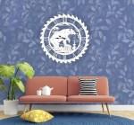 Laser Cut Bear Wall Clock Wall Decor Free Vector