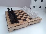 Laser Cut Chess Set DXF File