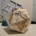Laser Cut Engrave Dymaxion Globe SVG File