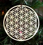 Laser Cut Flower Of Life Free Vector