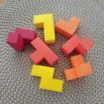 Laser Cut Soma Cube Puzzle Nikitin Squares Educational Kids Toy Tetris 3mm Free Vector