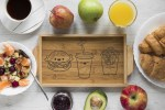 Laser Engraving Decoratiions For Kitchen Trays Free Vector