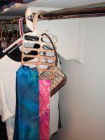 Laser Cut Wooden Neck Tie Hanger Vertical Tie Rack Gift DXF File