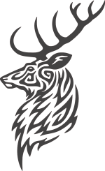 Buck-Deer-Head-DXF-File.png