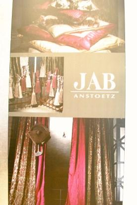 JAB Anstoetz showroom