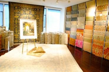Stark Fabric showroom
