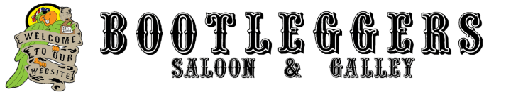 Bootleggers Saloon & Galley header logo (previous)