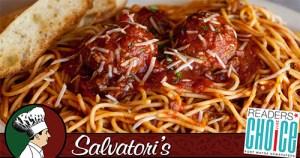 Salvatori's Facebook advertisement Readers' Choice