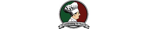 Small version of Salvatori's 10 year logo