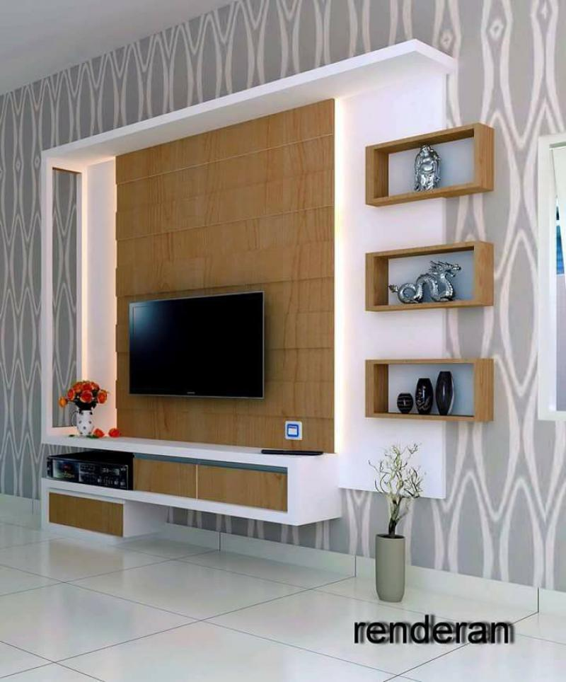 49 LcdTv Unit Cabinet Amp Wall Design Ideas For Living