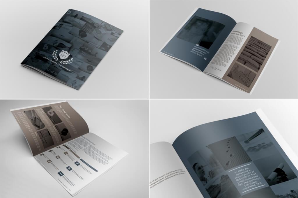01 o 2 1 1024x681 - 70+ Modern Corporate Brochure Templates