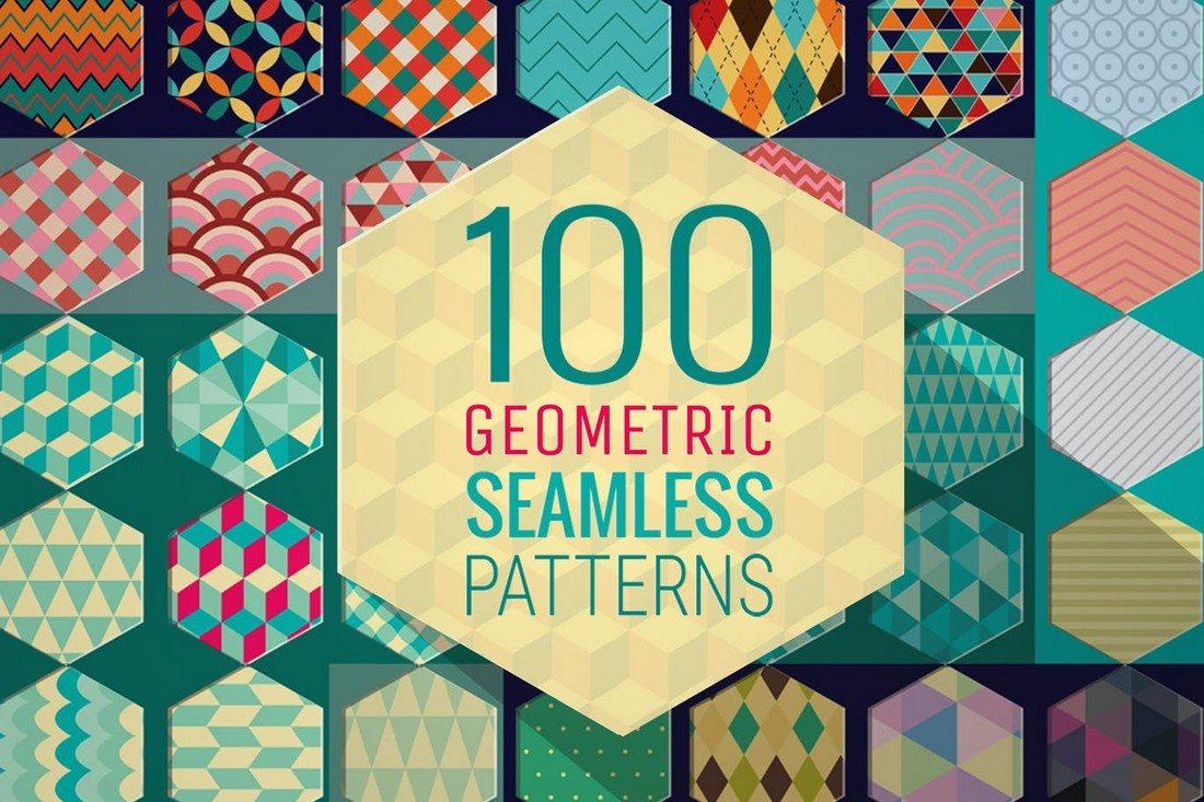 20+ Beautiful Geometric & Polygon Background Textures 76