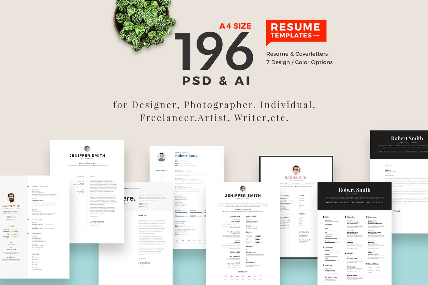 The Best CV & Resume Templates: 50 Examples 1