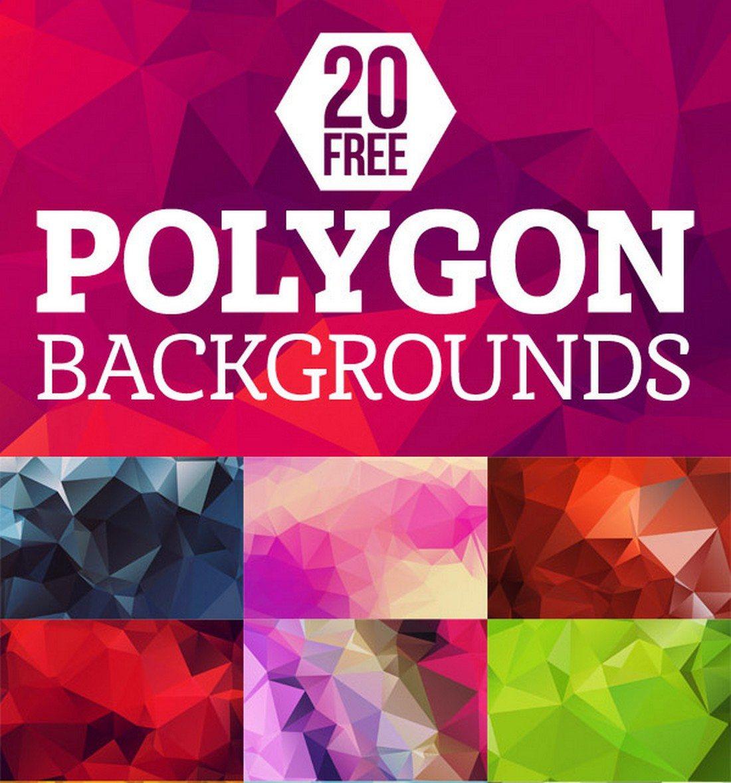 20+ Beautiful Geometric & Polygon Background Textures 63