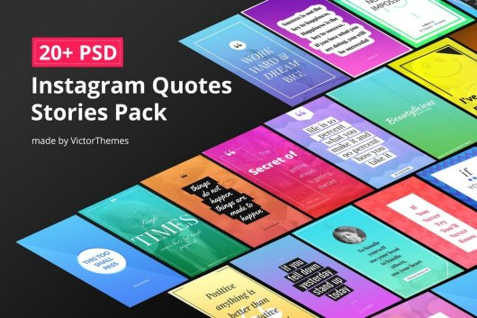 20+ Quotes Instagram Story Templates