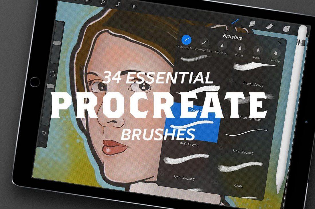 30+ Best Procreate Brushes 47