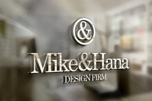 3D Logo & Sign Mockups