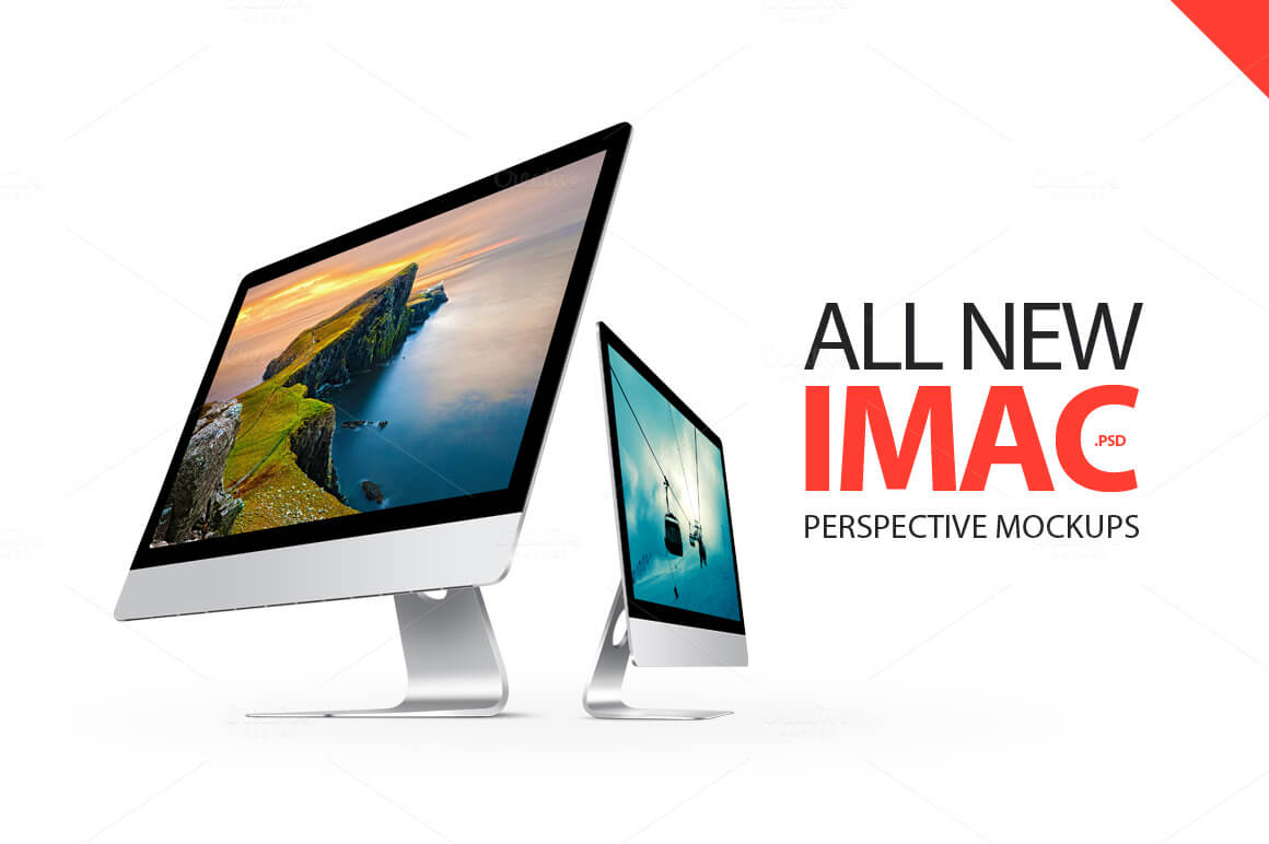 40 Imac Mockups Psds Photos Vectors Web Design Online