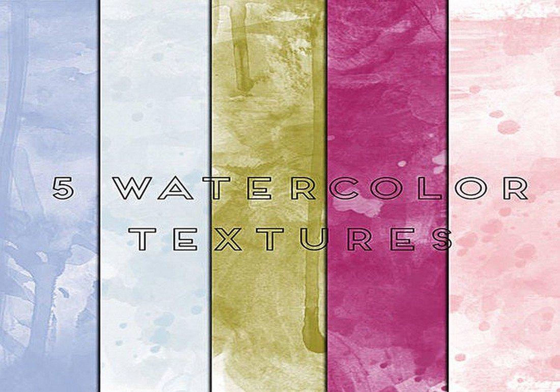 20+ Best Watercolor Background Textures 35