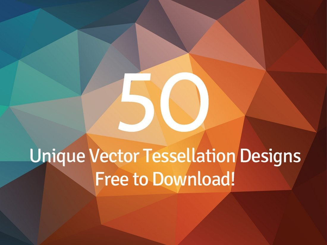 20+ Beautiful Geometric & Polygon Background Textures 75