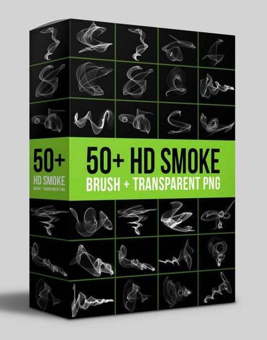 50+ HD Smoke Brushes & Transparent PNG