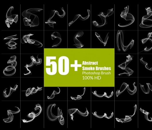 50 Modern Smoke Brushes Brushes