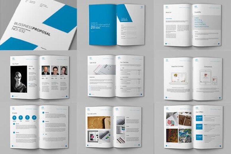 580 f o - 70+ Modern Corporate Brochure Templates
