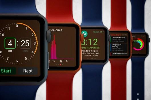 6 Apple Watch Mockups