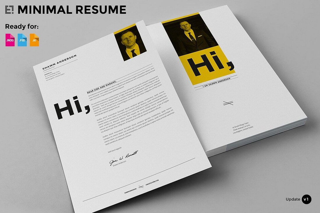 The Best CV & Resume Templates: 50 Examples 23