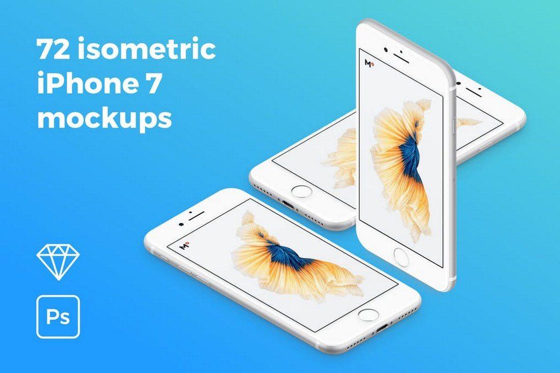 20+ Best Isometric Mockup Templates 29