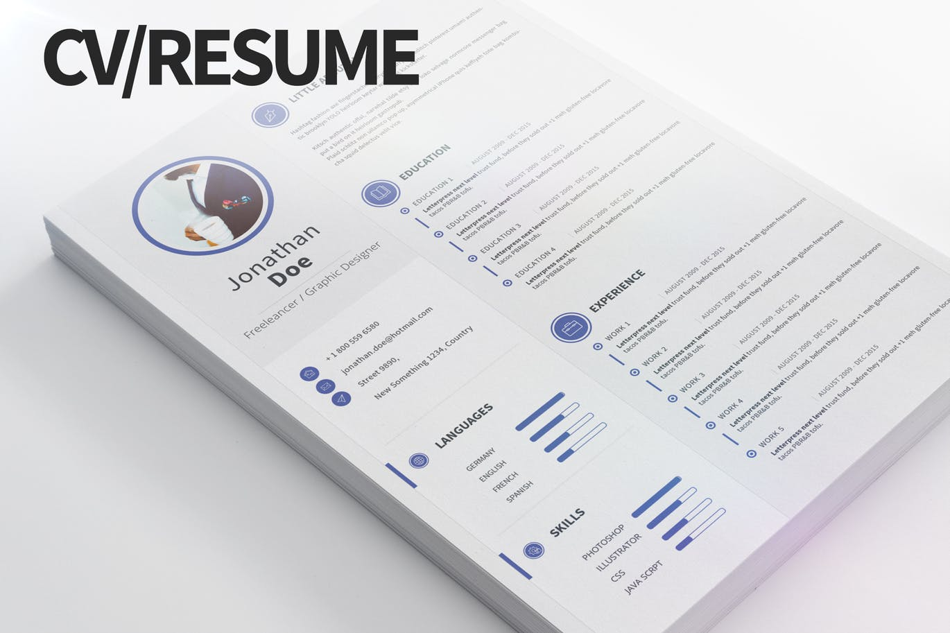 The Best CV & Resume Templates: 50 Examples 15
