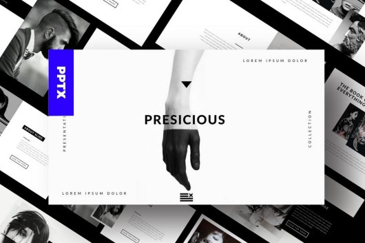 Agency Portofolio- Cool Powerpoint Template