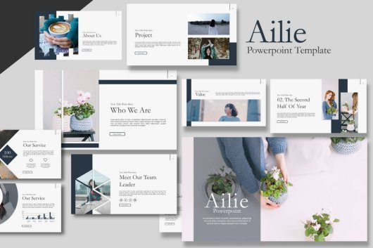 Ailie - Creative Free Presentation Template