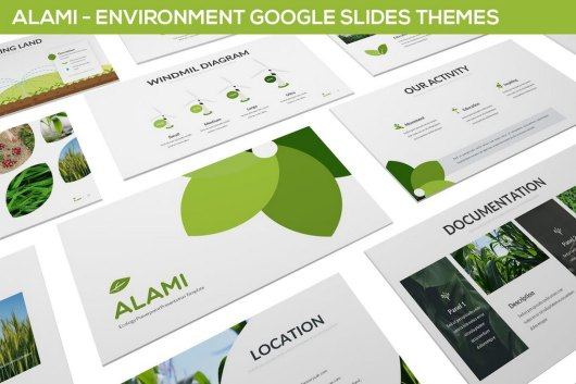 Splasher Google Slide Template