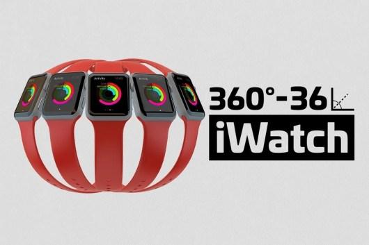 Apple Watch Kit Mockups