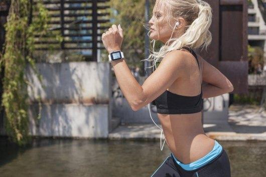 Apple Watch Running Fitness Mockups