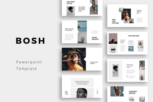BOSH - Minimal PowerPoint Template