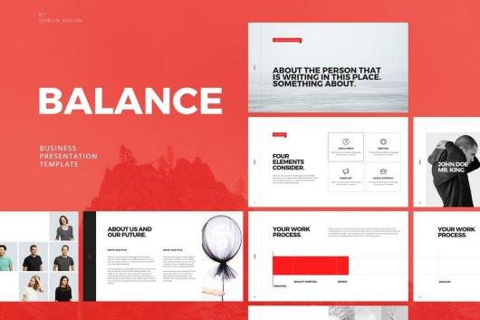 Balance - Clean Powerpoint Template