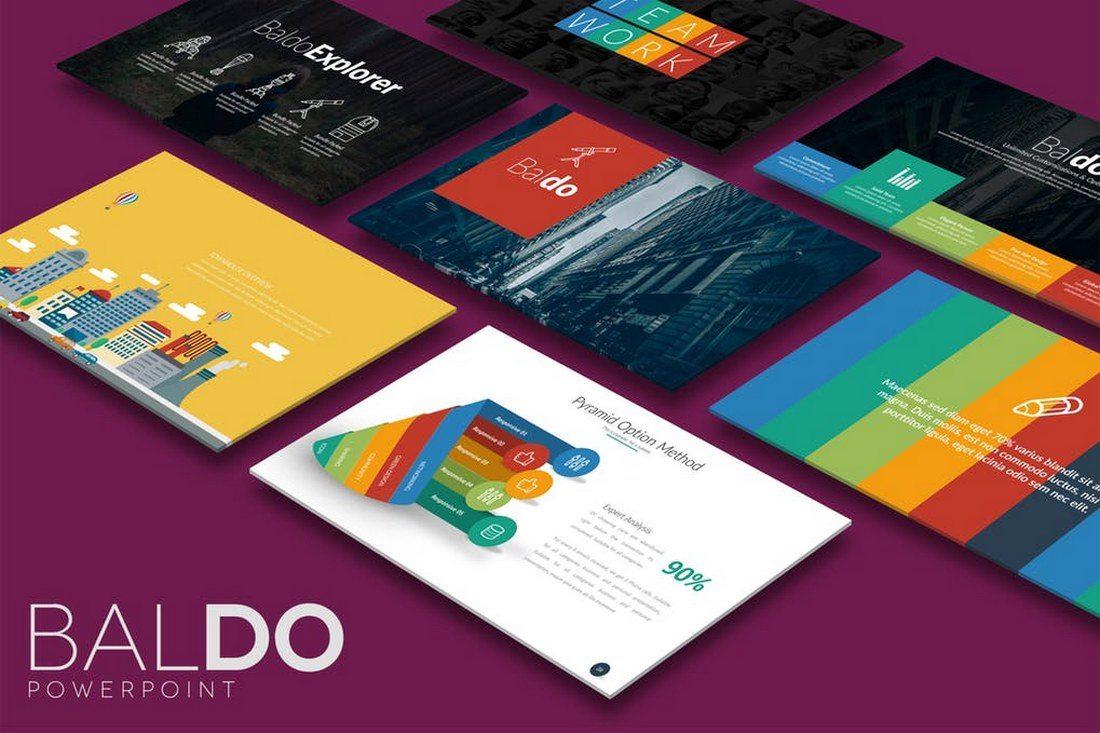 60+ Beautiful, Premium PowerPoint Presentation Templates 36