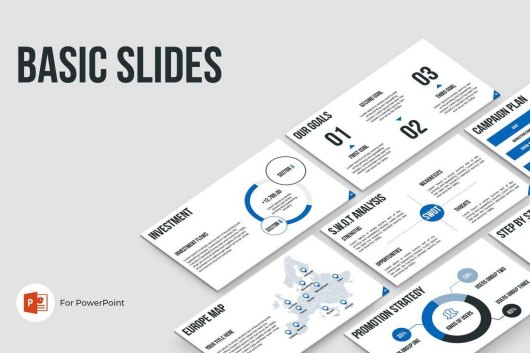 Basic Slides - PowerPoint Template