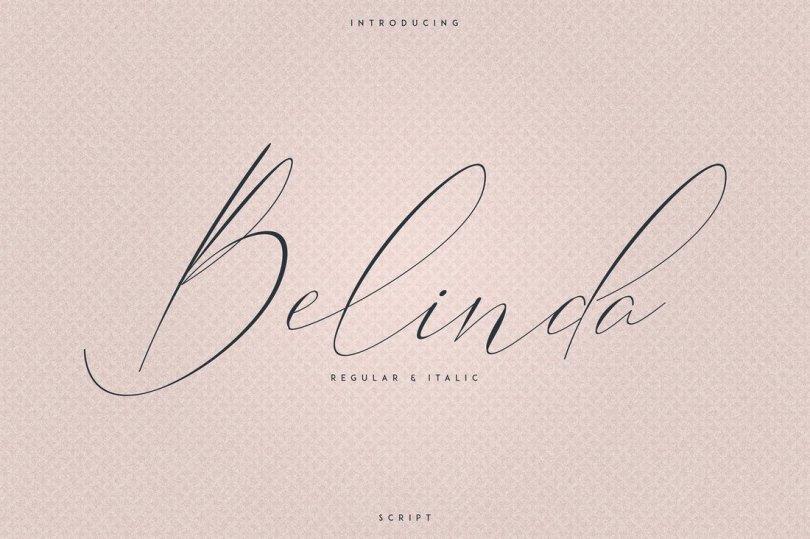 Belinda - Free Scrpt Font