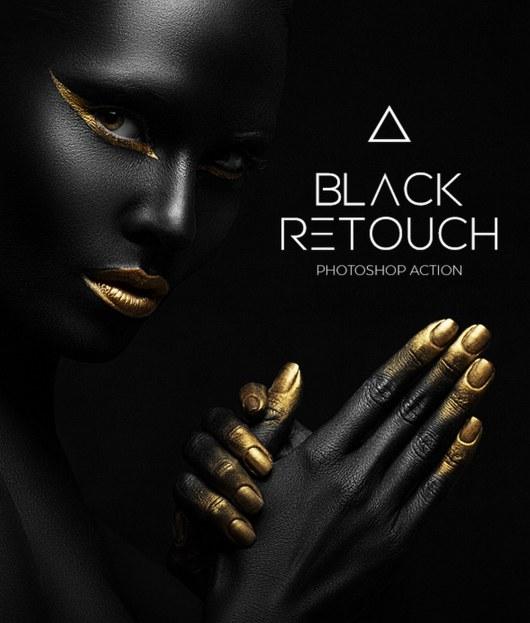 Black & White Retouch Photoshop Action