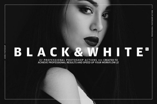 Black and White - Photoshop Actions