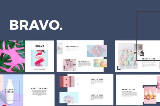Bravo - Keynote Presentation Template